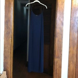 Blue dress from J Crew